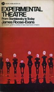 Experimental Theatre - original book jacket